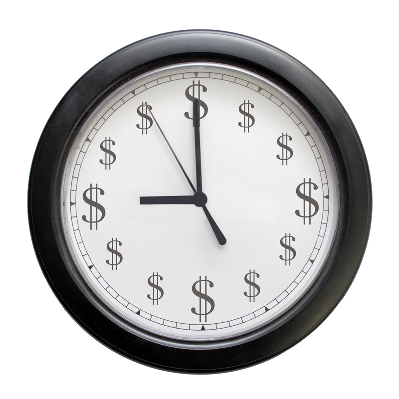 money clock 13808886